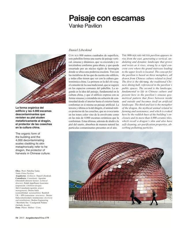 Arquitectura Viva 175 EXPO MILANO 2015 - Preview 16