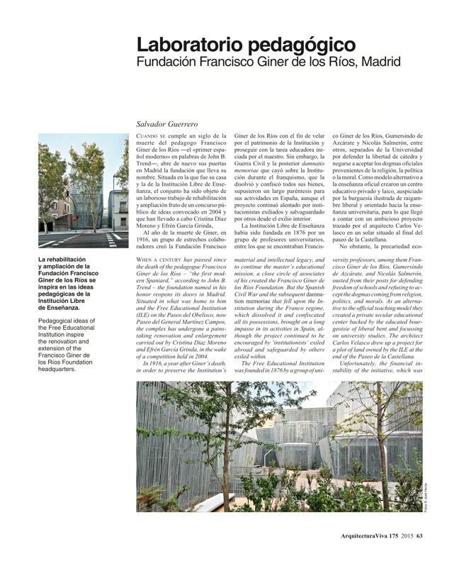 Arquitectura Viva 175 EXPO MILANO 2015 - Preview 19