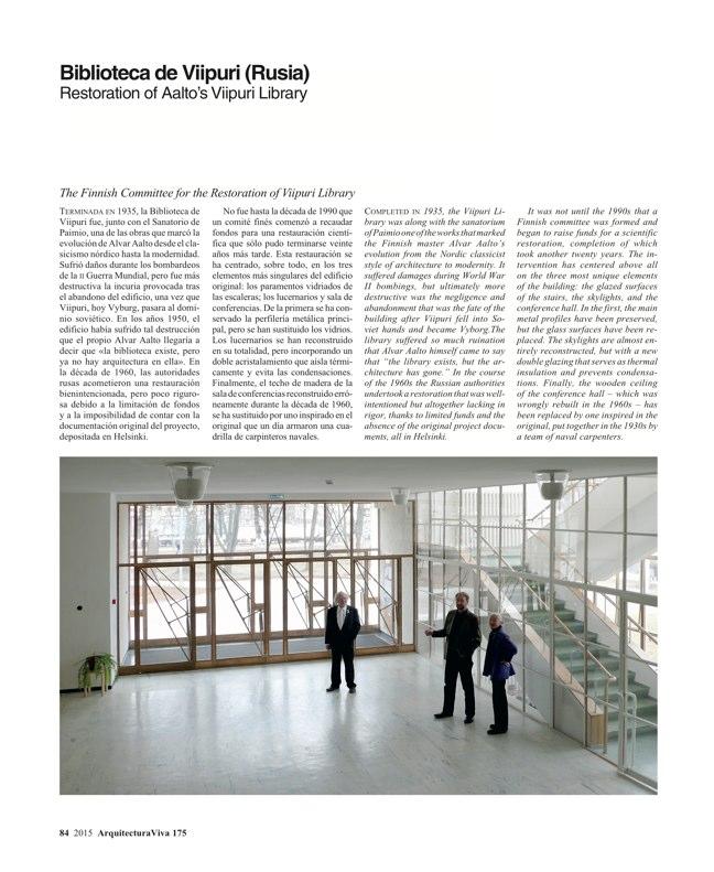 Arquitectura Viva 175 EXPO MILANO 2015 - Preview 25