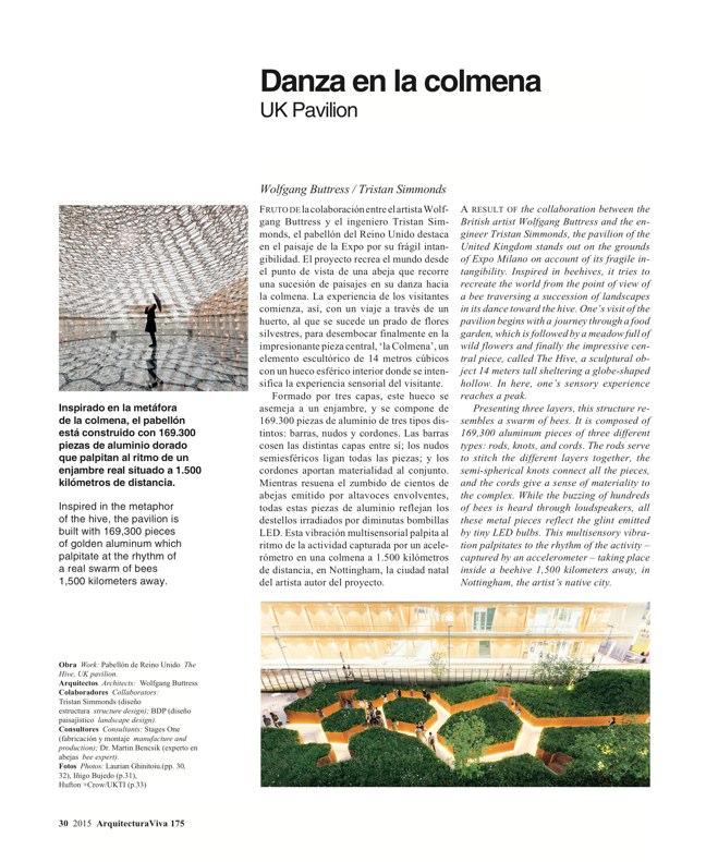 Arquitectura Viva 175 EXPO MILANO 2015 - Preview 7