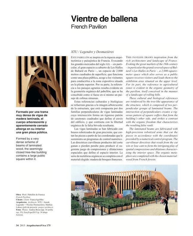 Arquitectura Viva 175 EXPO MILANO 2015 - Preview 8