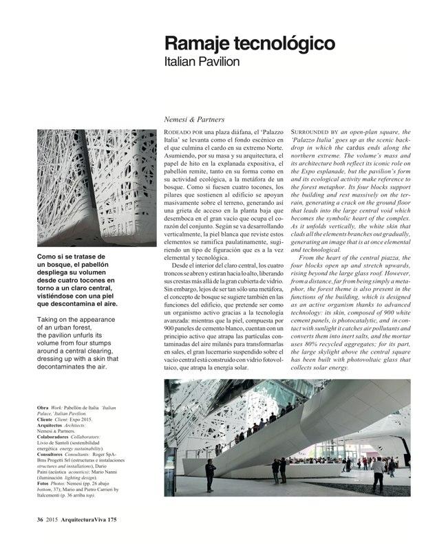 Arquitectura Viva 175 EXPO MILANO 2015 - Preview 9