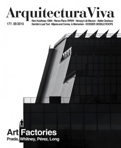 Arquitectura Viva 177 ART FACTORIES