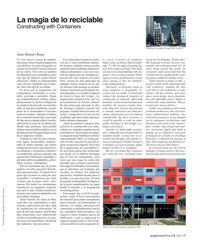 Arquitectura Viva 178 Energy Matters - Preview 12