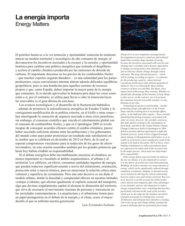 Arquitectura Viva 178 Energy Matters - Preview 3