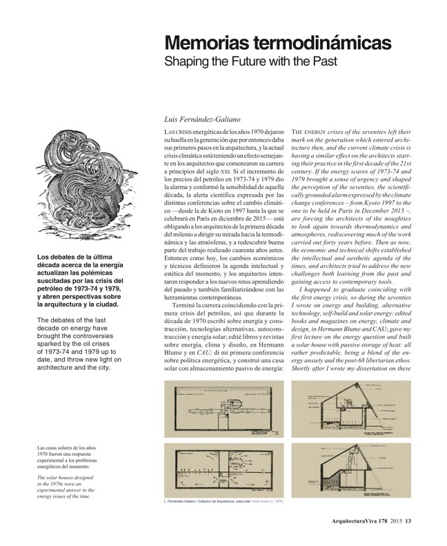 Arquitectura Viva 178 Energy Matters - Preview 4