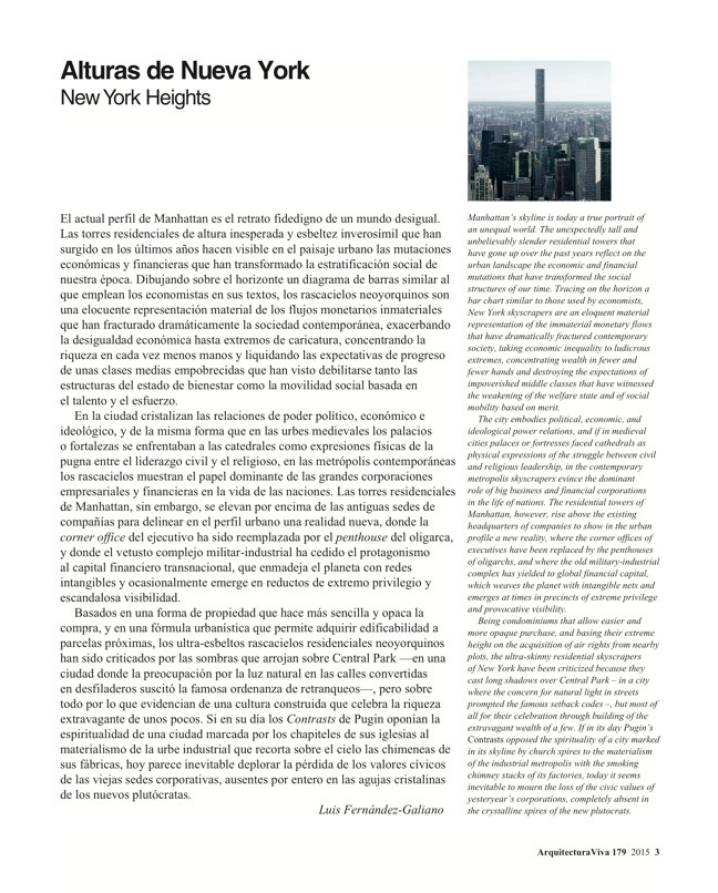 Arquitectura Viva 179 New York Heights - Preview 2