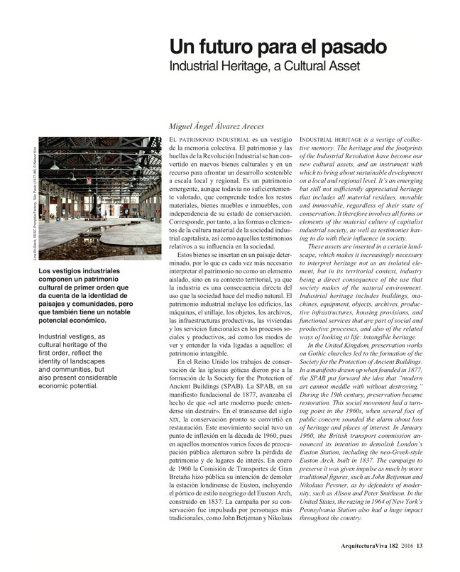 Arquitectura Viva 182 Industrial Heritage - Preview 4