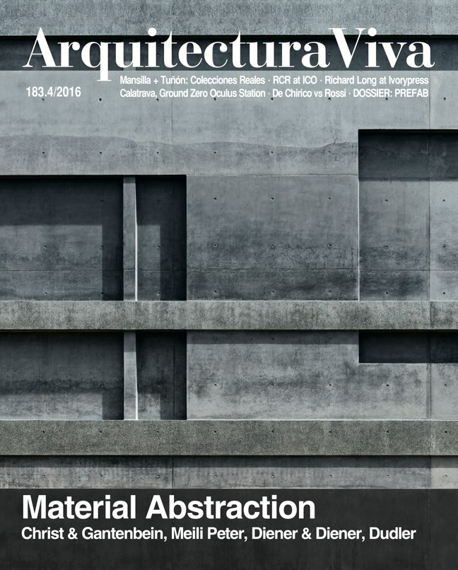 Arquitectura Viva 183 Material Abstraction