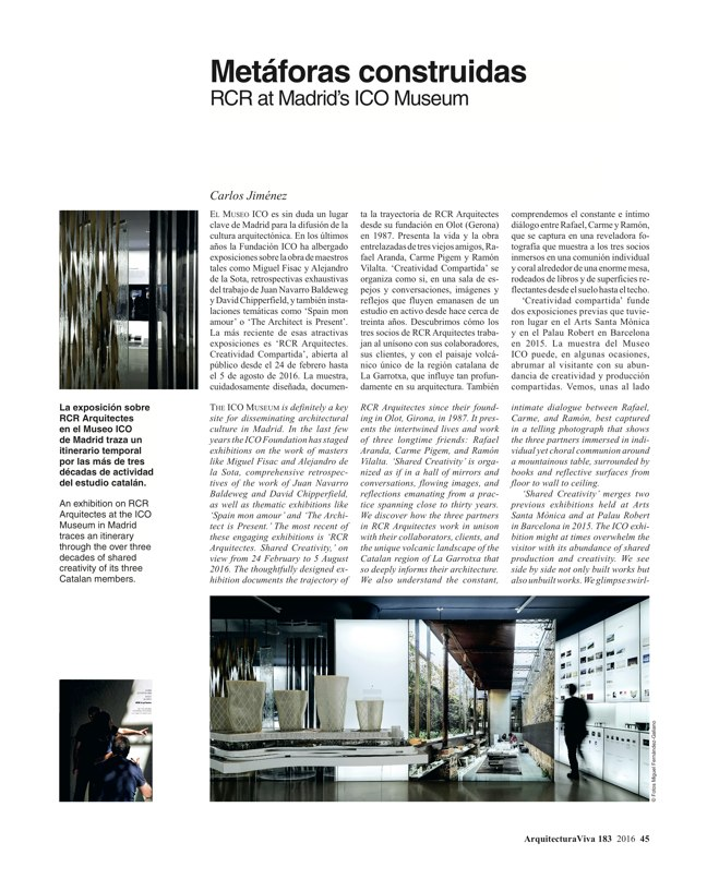 Arquitectura Viva 183 Material Abstraction - Preview 12