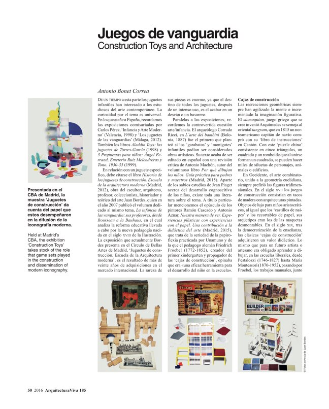 Arquitectura Viva 185 For Children - Preview 13