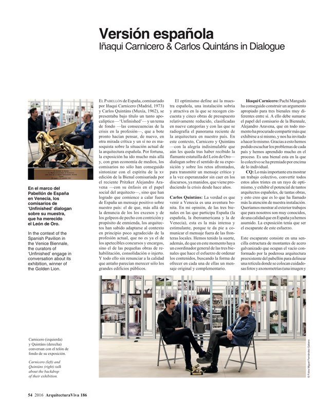 Arquitectura Viva 186 Continuity and Invention - Preview 9