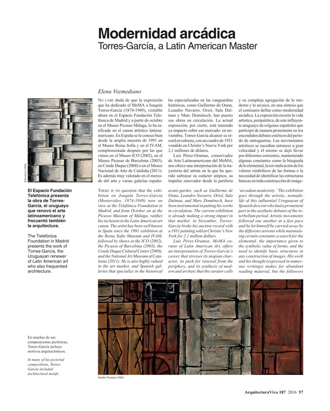 Arquitectura Viva 187 Spanish Solutions. Under 50, the Crisis Generation - Preview 14
