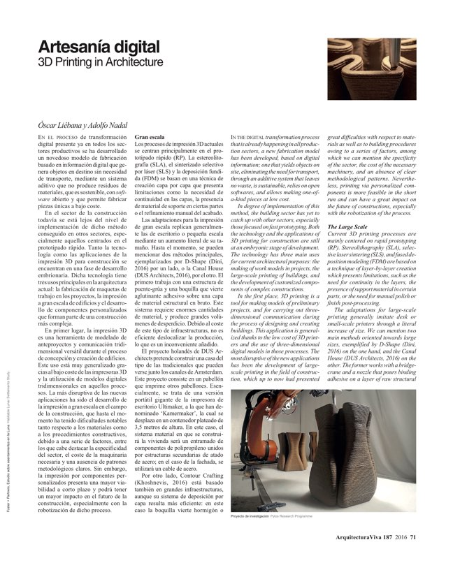 Arquitectura Viva 187 Spanish Solutions. Under 50, the Crisis Generation - Preview 18