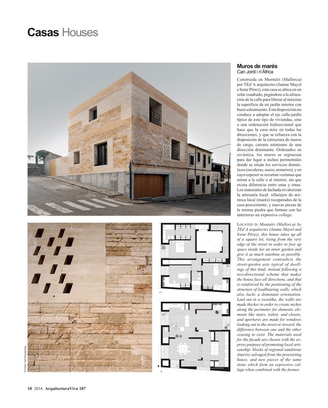 Arquitectura Viva 187 Spanish Solutions. Under 50, the Crisis Generation - Preview 4