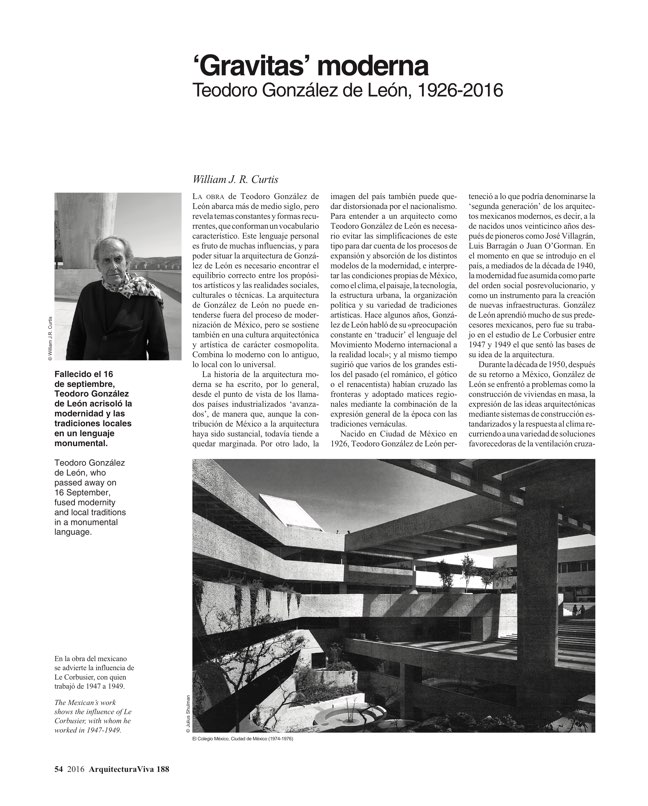 Arquitectura Viva 188 Change of Climate - Preview 12