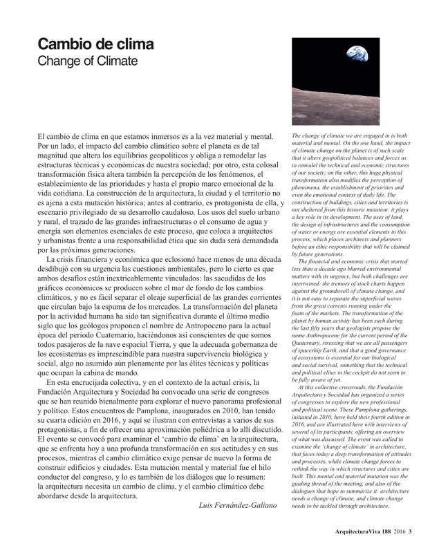 Arquitectura Viva 188 Change of Climate - Preview 2
