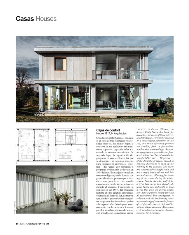Arquitectura viva 188 change of climate archpapers for Av arquitectura viva