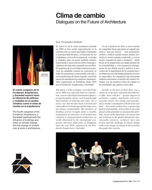 Arquitectura Viva 188 Change of Climate - Preview 5