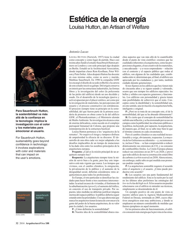 Arquitectura Viva 188 Change of Climate - Preview 8
