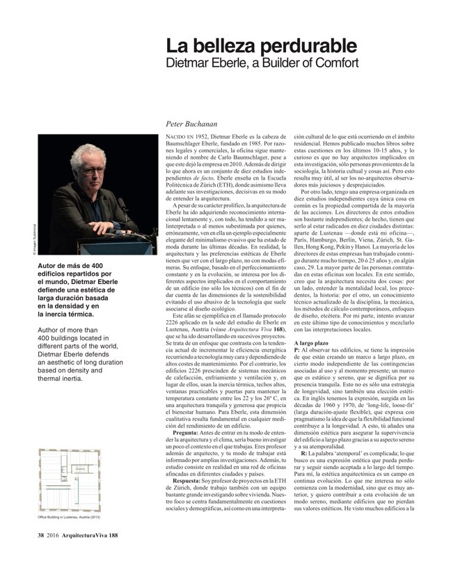 Arquitectura Viva 188 Change of Climate - Preview 9