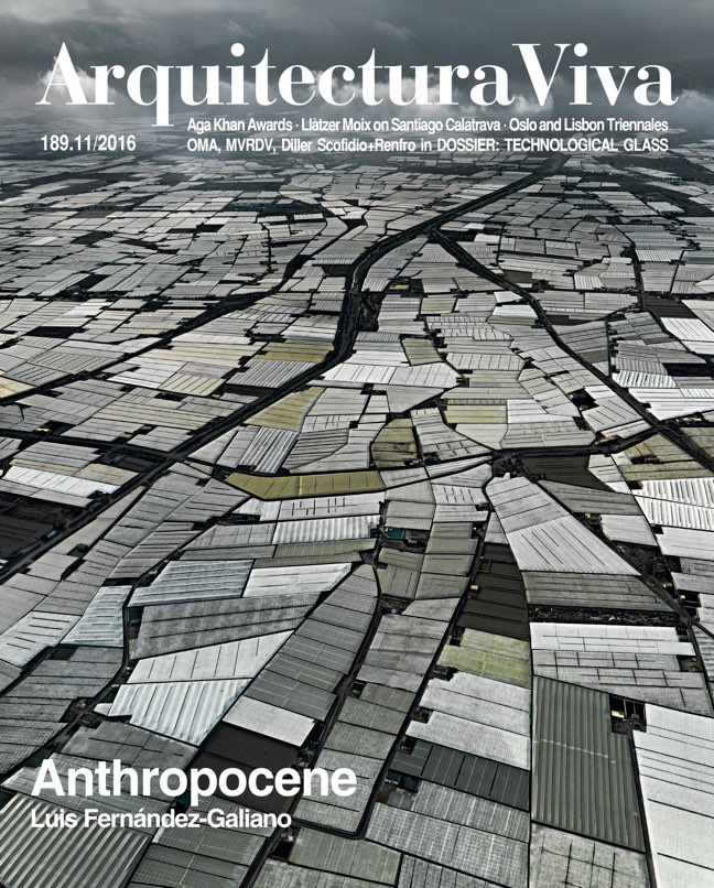 Arquitectura Viva 189 ANTHROPOCENE