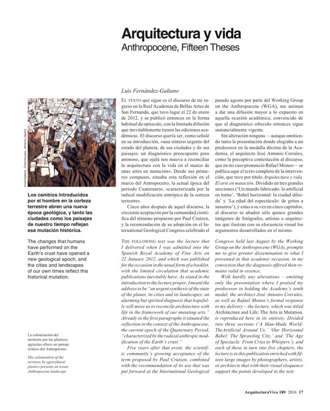 Arquitectura Viva 189 ANTHROPOCENE - Preview 3