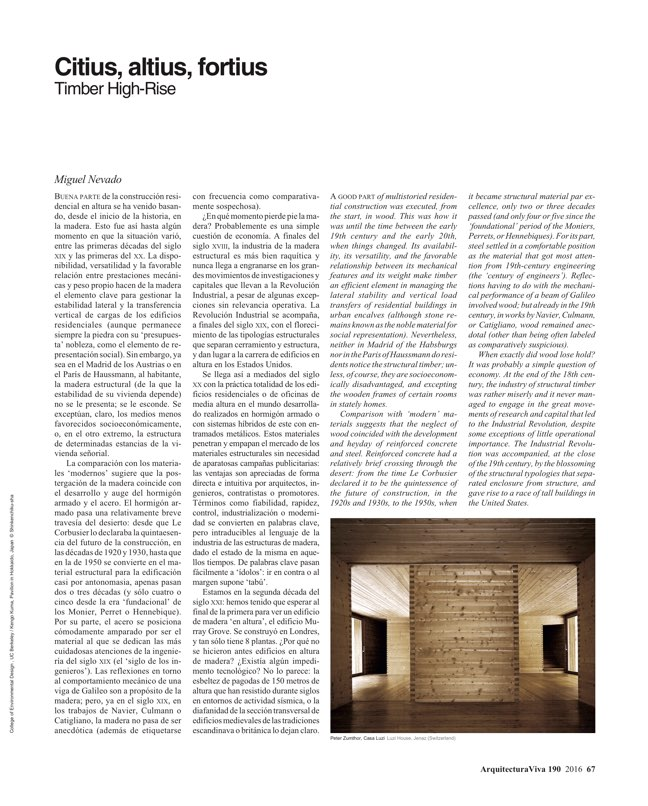 Arquitectura Viva 190 History Patterns - Preview 12