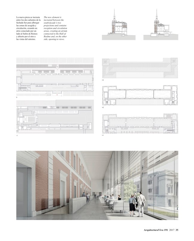 Arquitectura Viva 191 The Prado Competition - Preview 7