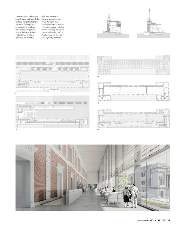 Arquitectura viva 191 the prado competition archpapers for Av arquitectura viva