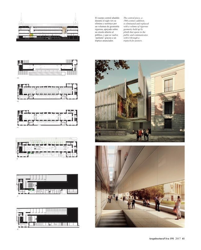 Arquitectura Viva 191 The Prado Competition - Preview 8