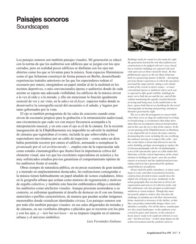 Arquitectura Viva 193 Soundscapes - Preview 3