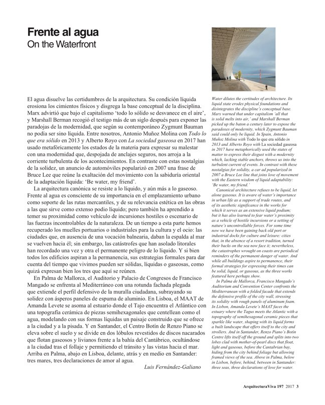 Arquitectura Viva 197 On the Waterfront - Preview 2
