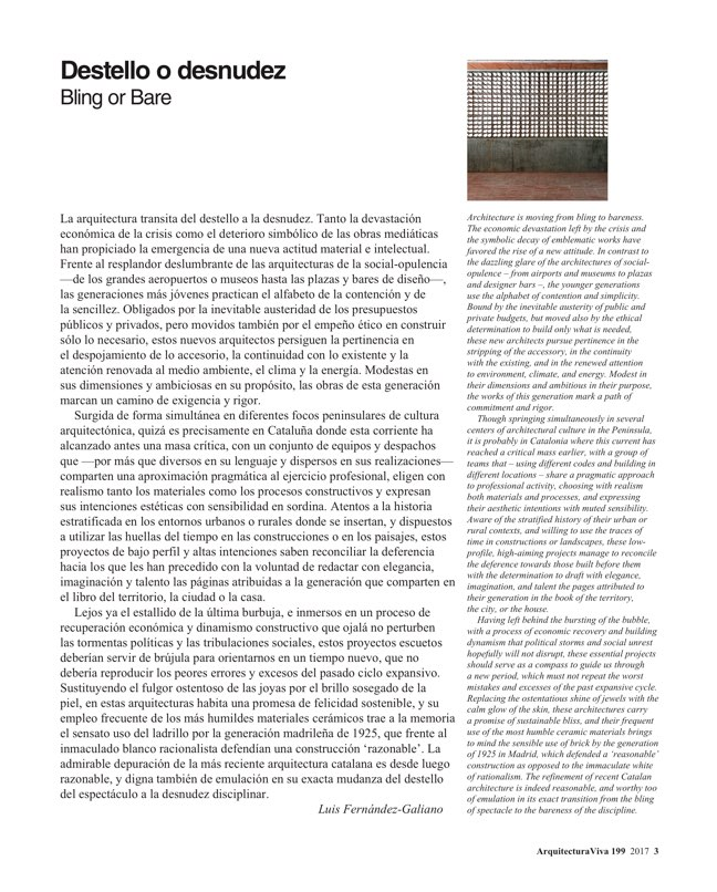 Arquitectura Viva 199 Young Catalonia - Preview 3