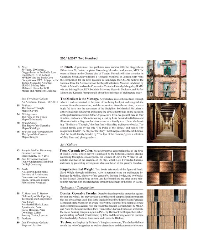 Arquitectura Viva 200 - Preview 2