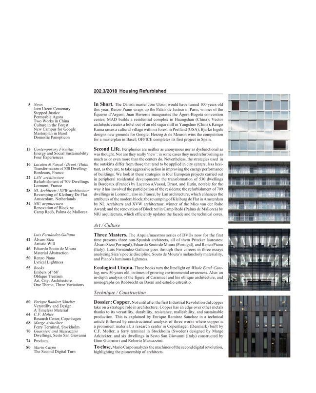 Arquitectura Viva 202 Housing Refurbished - Preview 2