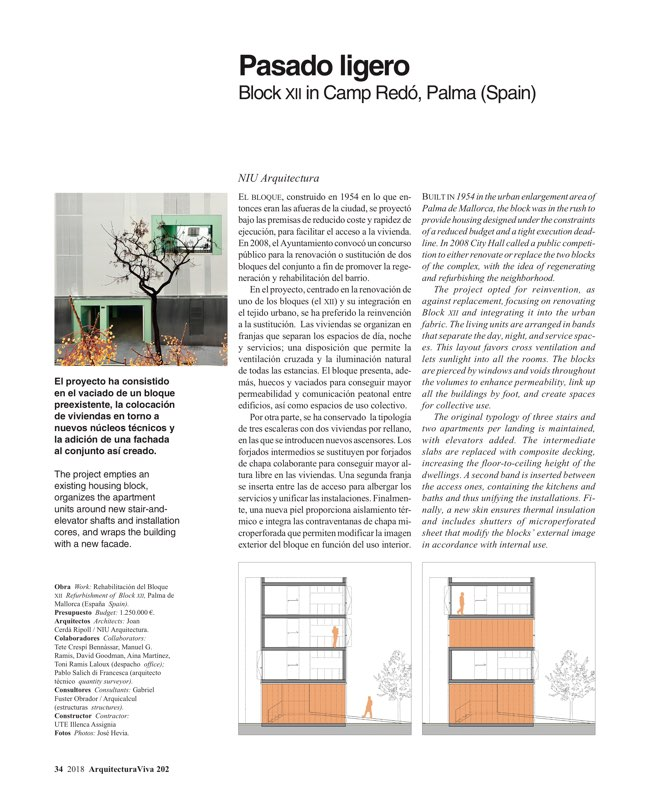 Arquitectura Viva 202 Housing Refurbished - Preview 8
