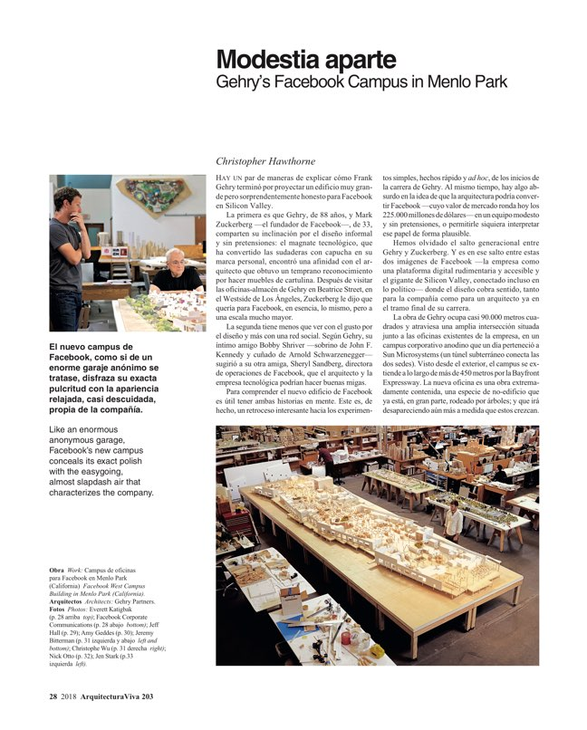 Arquitectura Viva 203 SILICON VALLEY - Preview 7