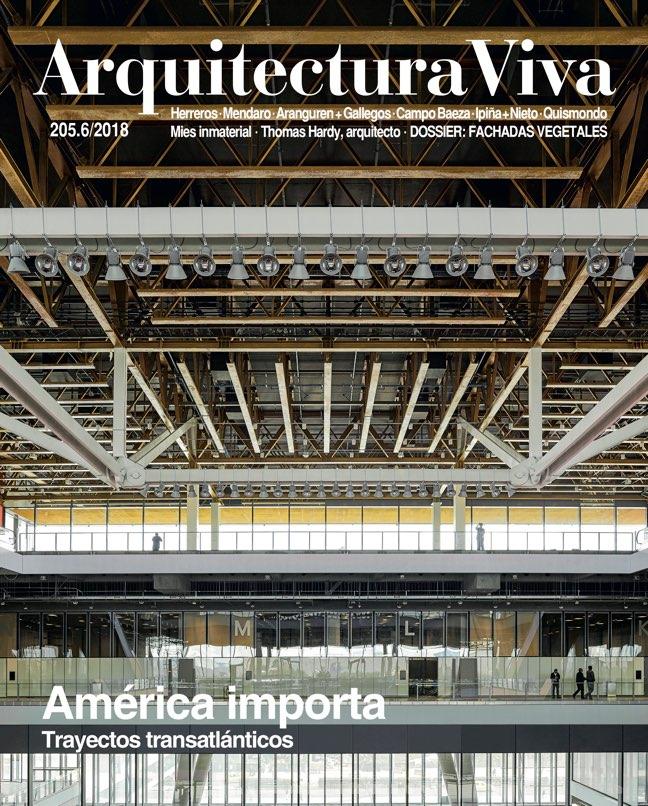 Arquitectura Viva 205 América importa