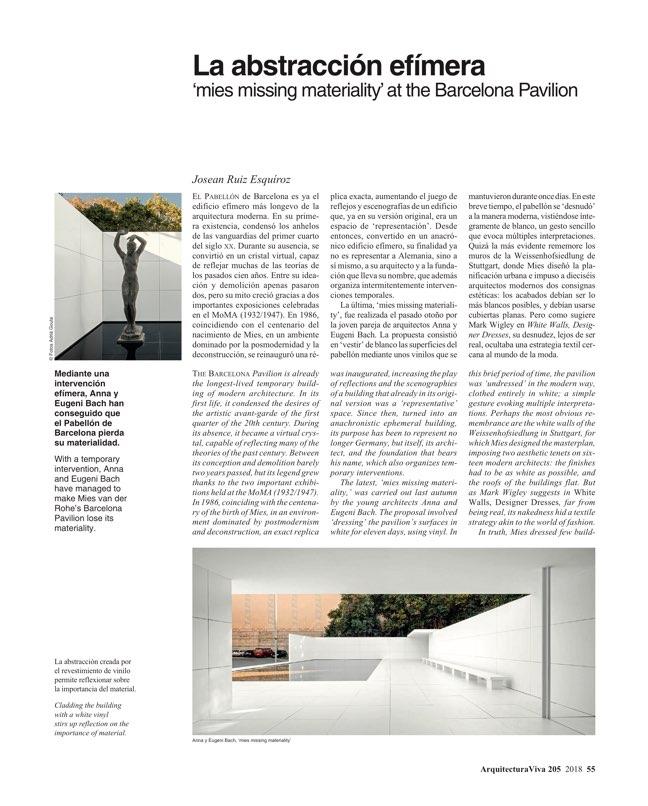 Arquitectura Viva 205 América importa - Preview 10