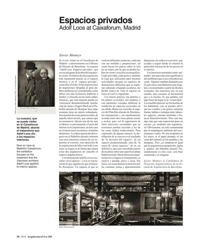 Arquitectura Viva 205 América importa - Preview 11