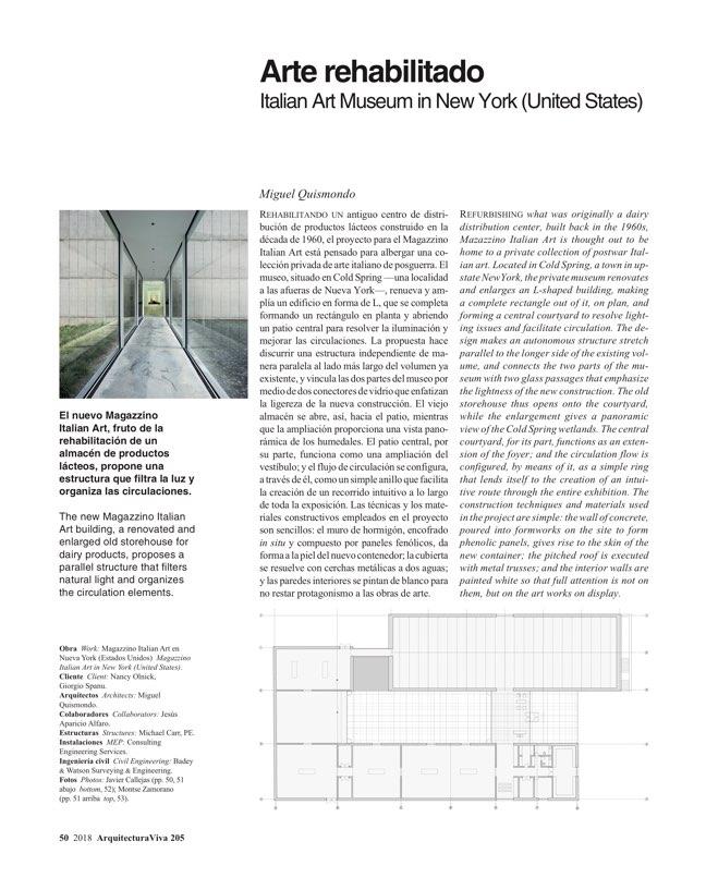 Arquitectura Viva 205 América importa - Preview 9