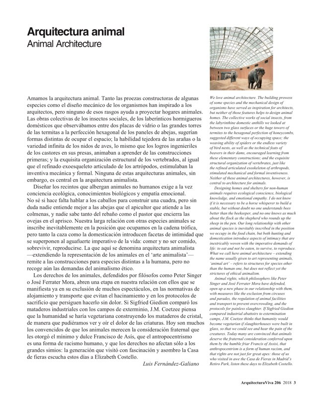 Arquitectura Viva 206 Animal Homes - Preview 3