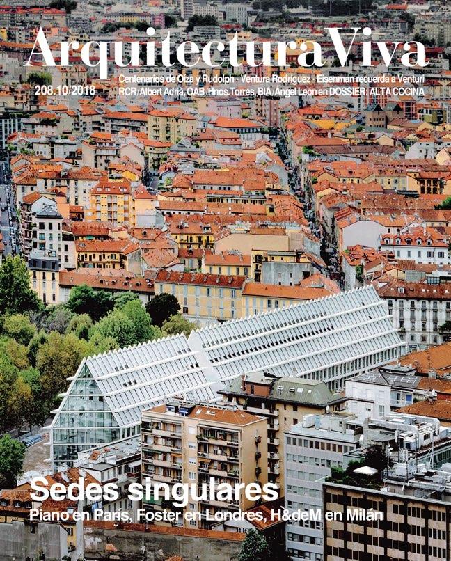 Arquitectura Viva 208 Singular Buildings