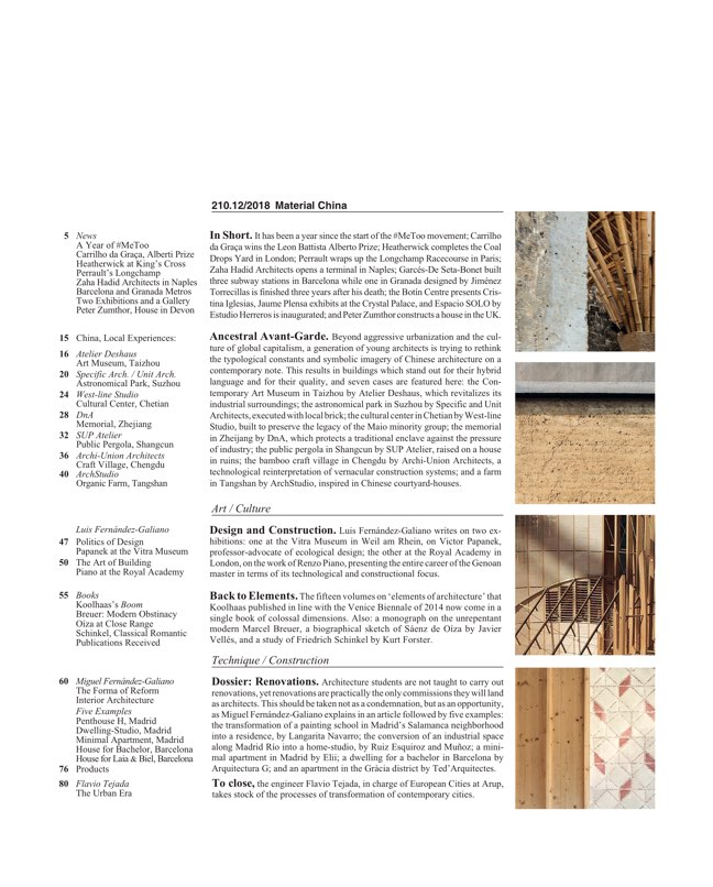 Arquitectura Viva 210 China Material - Preview 2