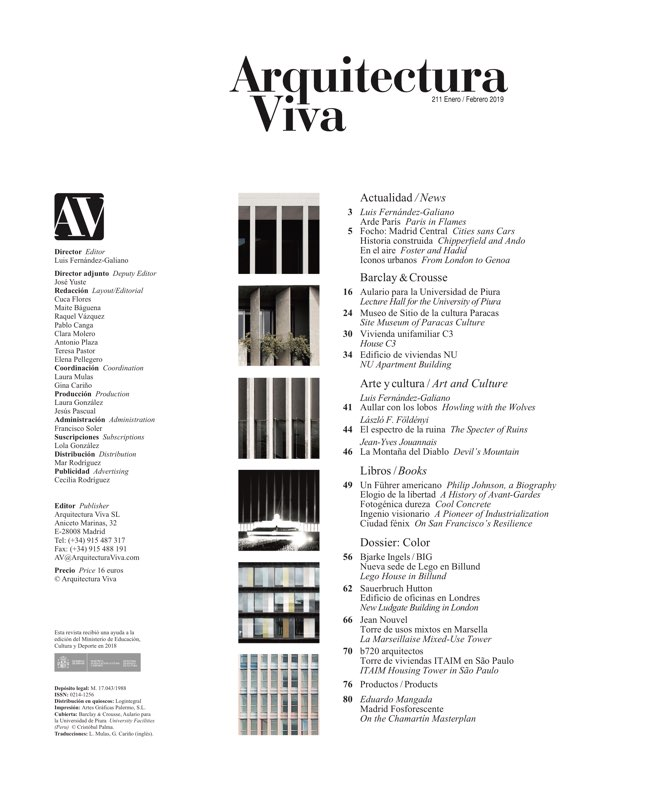 Arquitectura Viva 211 Barclay & Crousse - Preview 1