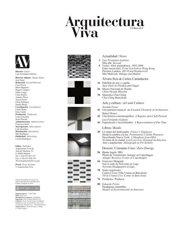 Arquitectura Viva 212 Alvaro Siza - Preview 1