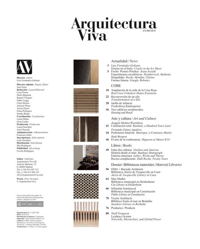 Arquitectura Viva 213 COBE - Preview 1