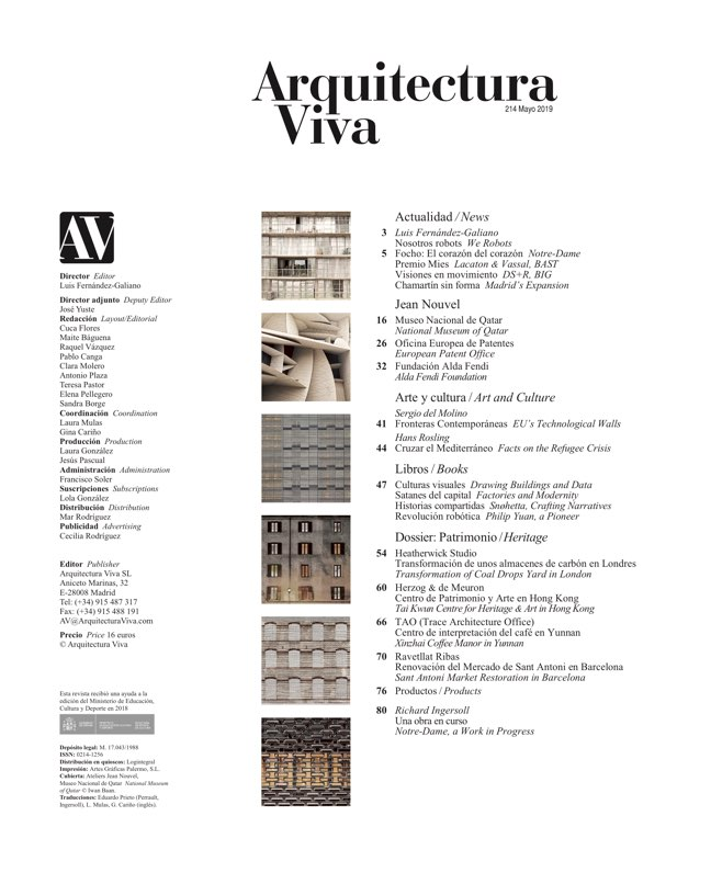 Arquitectura Viva 214 JEAN NOUVEL - Preview 1