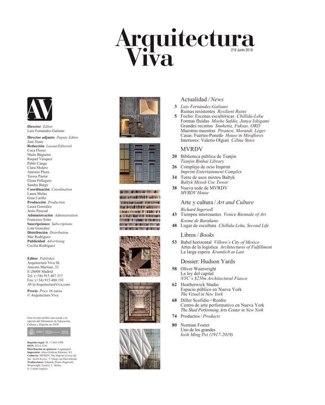 Arquitectura Viva 215 MVRDV - Preview 1